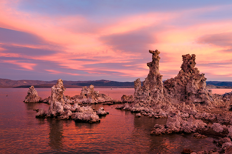 Tufas at Sunrise, Mono Lake, CA