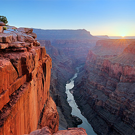 Sunrise at Toroweap, Grand Canyon National Park, AZ