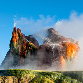 Fly Geyser, Washoe County, NV
